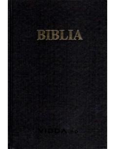 Biblia - Format Mare - Neagra - Cartonata - Margini aurii