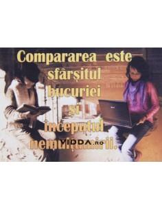 Compararea este sfarsitul bucuriei