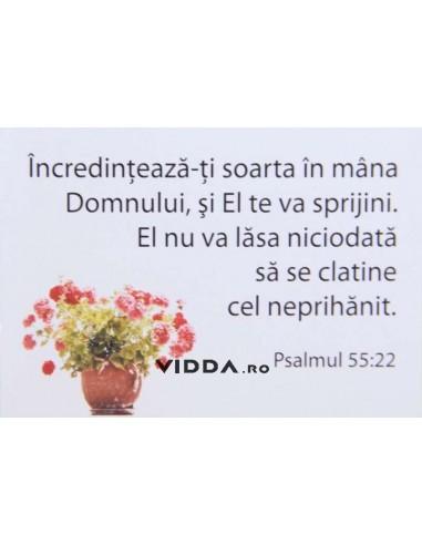 Incredinteaza-ti soarta in mana Domnului, si El te va sprijini