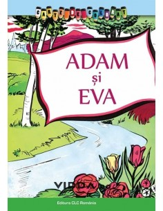 Adam si Eva - Carte de colorat