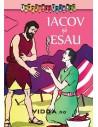 Iacov si Esau - Carte de colorat