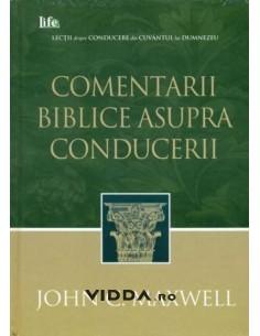 Comentarii biblice asupra conducerii - John C Maxwell