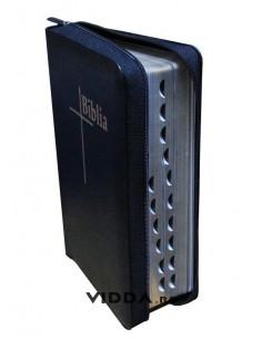 Biblia Thompson - Format mediu - Piele neagra cu fermoar - Index de cautare - Margini aurii 3