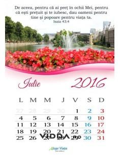 Calendar crestin 2016 - Iulie