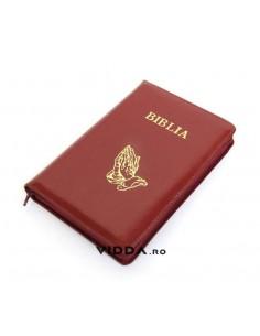Biblia - Format mediu - Visinie - In piele cu fermoar - Maini in rugaciune 1