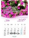 Calendar crestin 2017