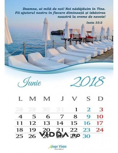 Calendar crestin 2018