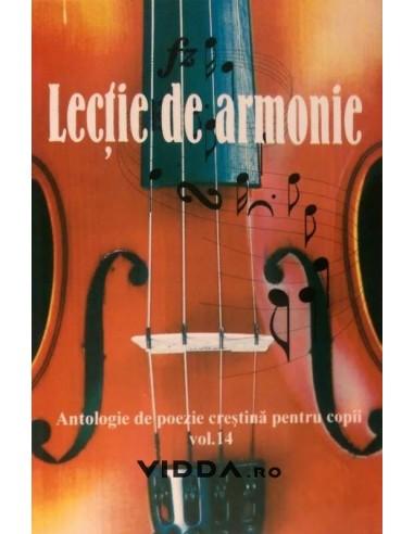 Lectie de armonie - Antologie de poezie crestina pentru copii