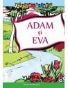 Adam si Eva - Carte de colorat
