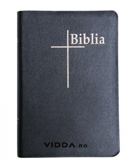 Biblia Thompson - Format mediu - Index de cautare - Margini aurii - Piele neagra fara fermoar  2
