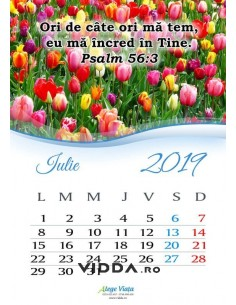Calendar crestin 2019