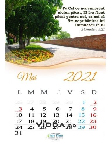 Calendar crestin 2021