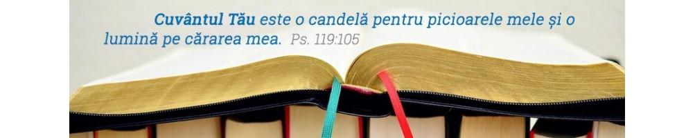 Biblii Cornilescu - Biblii de lux - Biblii cu explicatii - Biblii de studiu - Biblii Thompson - Biblii noua traducere